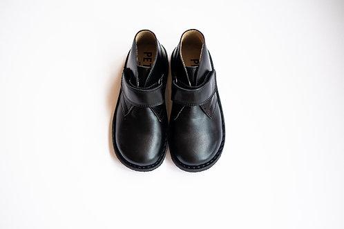 Petasil Kal School Boots - Full Black