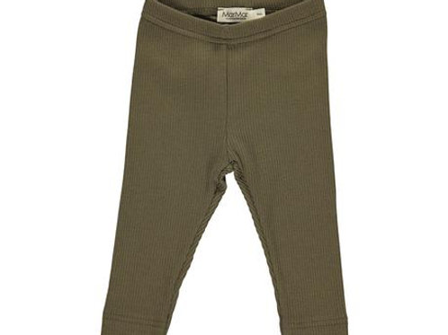 Mar Mar Modal Ribbed Leggings - Loden