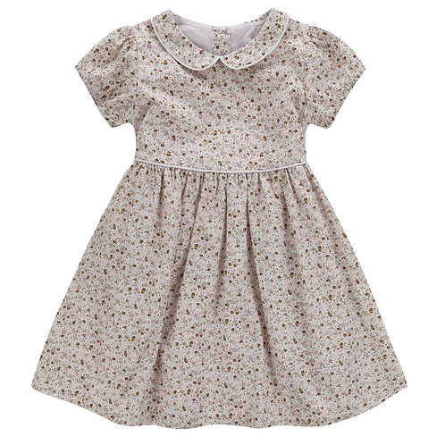 Martha Dress Cinder Floral by Little Cotton Clothes