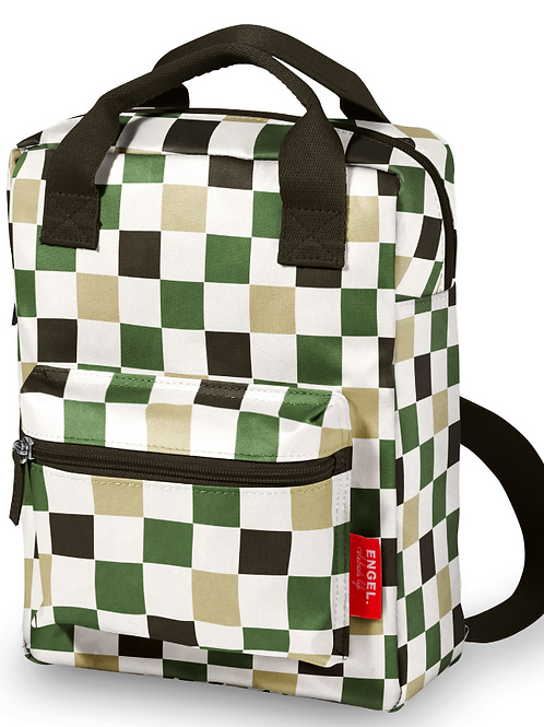 Engel Large Backpack - Checked