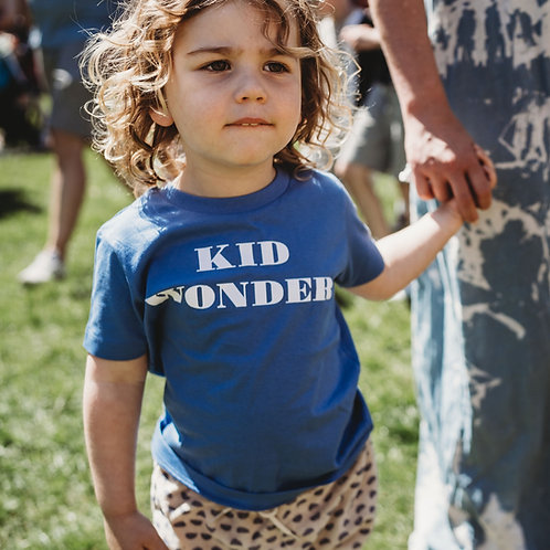 'Kid Wonder' Blue T-Shirt by Other Kids