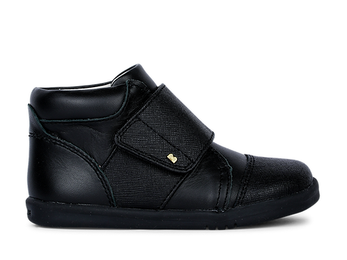 Bobux Boston Hi Top Black shoes