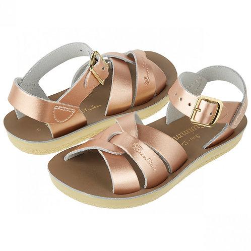 Salt-Water Swimmer Sandals - Rose Gold