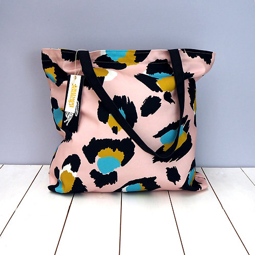 Eleanor Bowmer Large Leopard Tote Bag