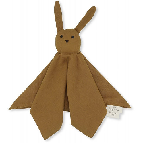 Konges Sløjd Bunny Comforter - Dark Honey