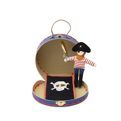 Meri Meri - Mini Pirate Doll Suitcase Set