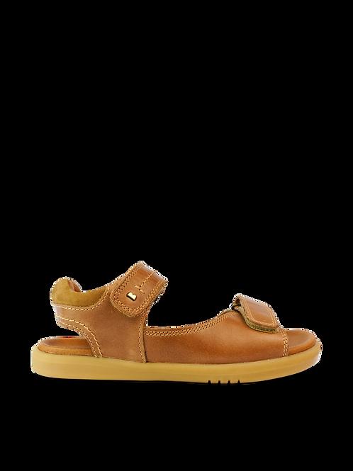 Bobux Kid plus Driftwood Sandals  Caramel tan saltwater