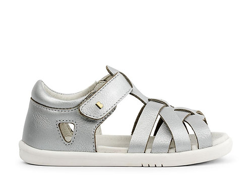 Bobux SU Tropicana First Walker Sandals Silver shoes