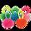 Thumbnail: Pom Pom Hair Elastics - 5 Pack