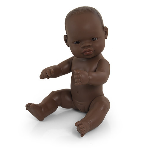 Miniland African Baby Girl Doll 32cm