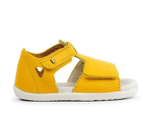 Bobux SU Mirror First Walker Sandals - Yellow