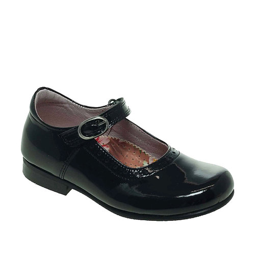 Petasil Anna Patent Leather Black shoes