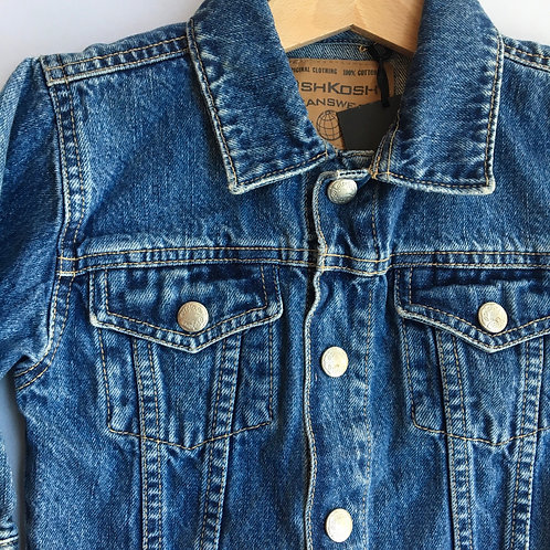 Vintage Original Baby Osh Kosh Denim Jacket 6-9 Months