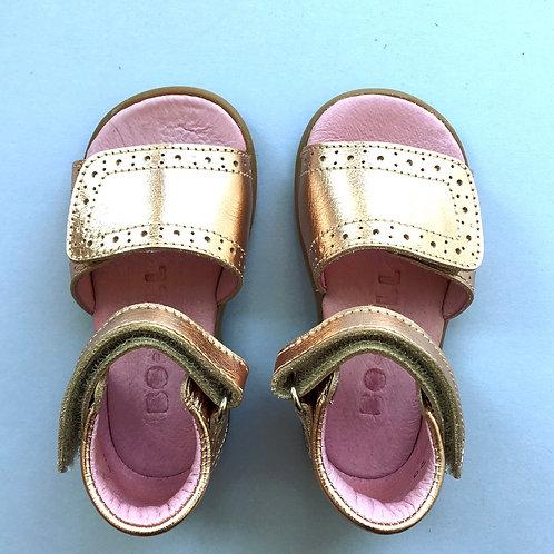Bo-Bell First Walker Sandals Rose Gold