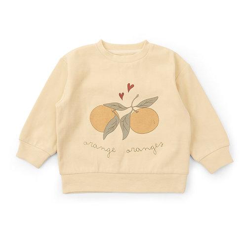Konges Slojd Lou Sweater Apricot Oranges kids clothes bobo chooses
