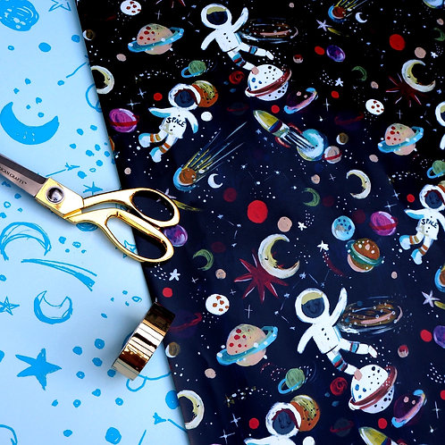 Gift Wrap - Spaceman (1 sheet)