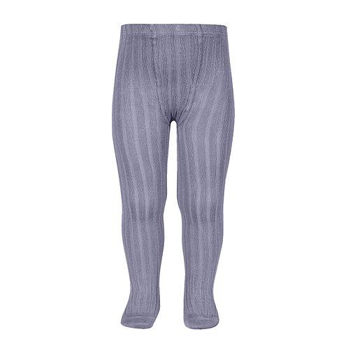 Condor Ribbed Tights - Lavender