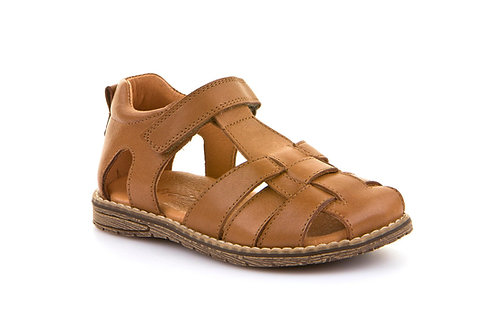 Froddo Leather Closed Back Fisherman Sandals Brown shoes tan