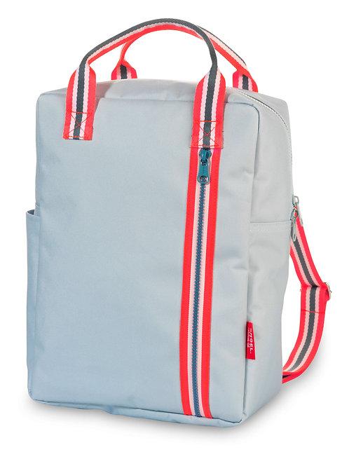 Engel Large Zipper Backpack Pale Blue