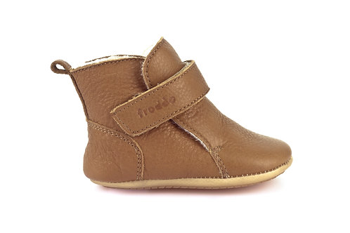 Froddo Leather Chelsea Boots Brown tan