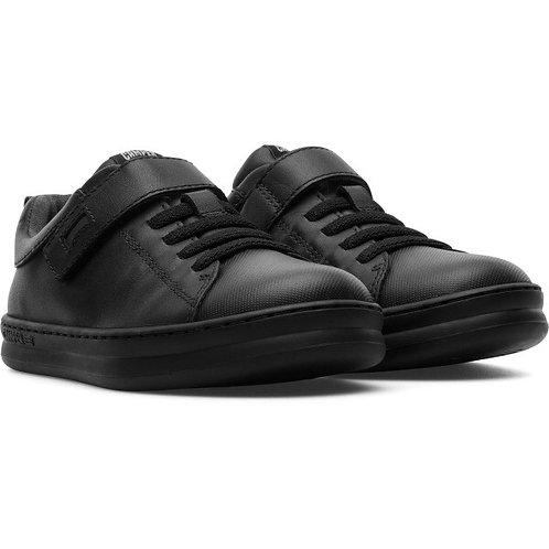 Camper Runner Boys Leather School Shoes