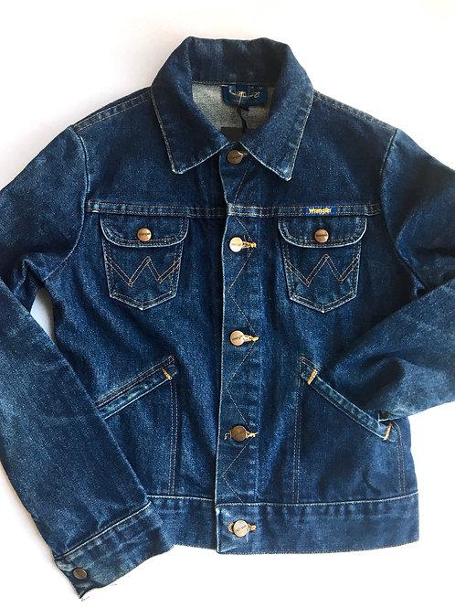 Vintage Original Wrangler Trucker Denim Jacket 8-10