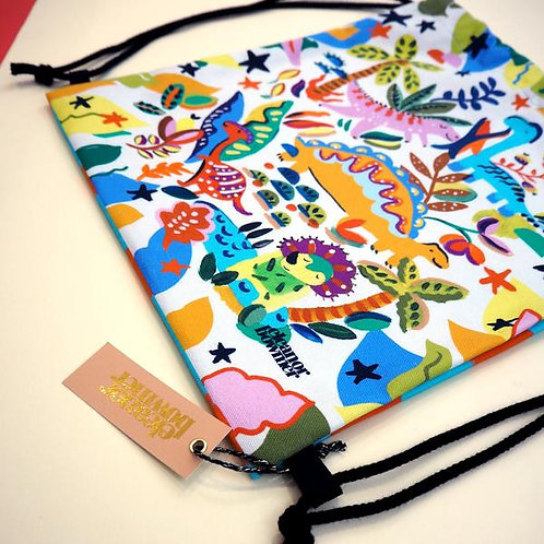 You're Dino-Mite Bag by Eleanor Bowmer dinosaur