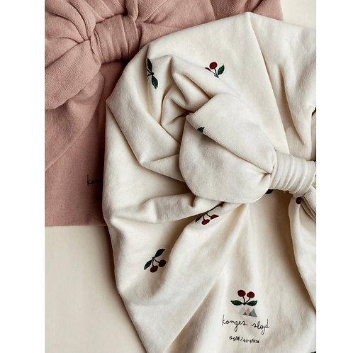 Konges Sløjd 2 Pack Bambi Bonnet - Cherry & Rugby Tan