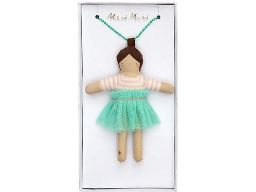 Meri Meri Dolly Necklace Lila