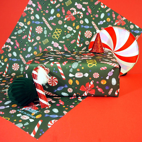 'Christmas Sweets' Wrapping Paper - Eleanor Bowmer