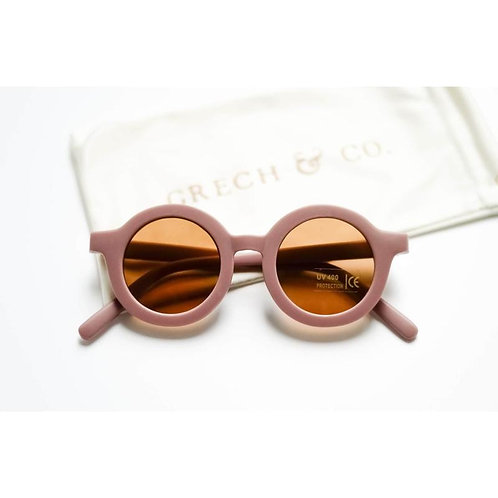 Kids Sustainable Sunglasses by Grech & Co - Burlwood