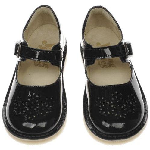 Young Soles Delilah Black Patent Shoes