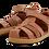 Thumbnail: Bobux IWalk Roam Toddler Sandals - Caramel
