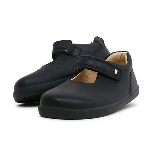 Bobux Delight Infant Mary Jane School Shoes - Black