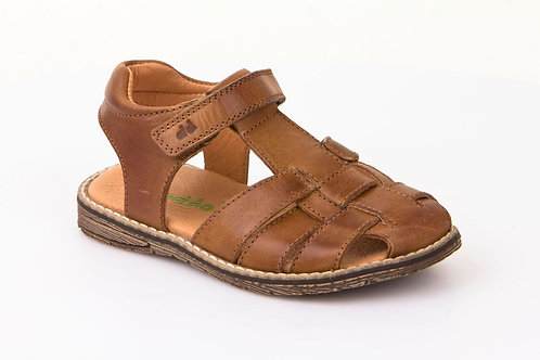 Froddo Leather Open Back Sandal Tan shoes