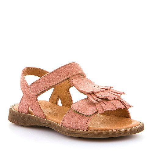 Froddo Tassle Sandals Blush Pink Suede shoes