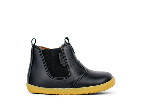 Bobux Step Up Jodphur Black boots shoes