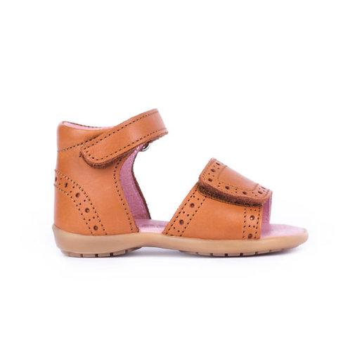 Bo-Bell First Walker Sandals - Cognac
