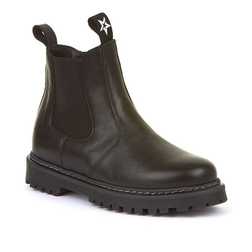 Froddo Chunky Chelsea Boot Black boots
