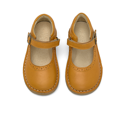 Young Soles Martha Mary Jane - Mustard