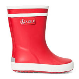 Aigle Baby Flac Wellies - Red