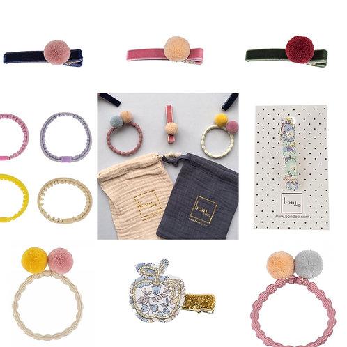 Pick n Mix - 3 x Bondep Hair Accessories & Pouch