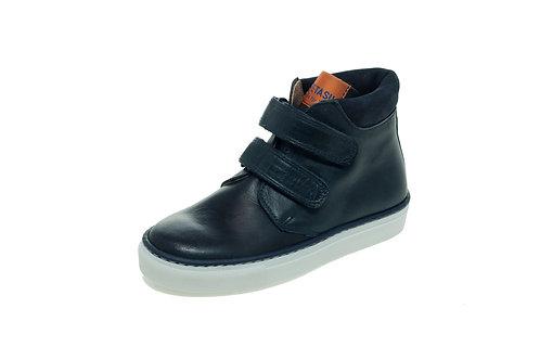Petasil Emerson Leather Boot - Vintage Navy