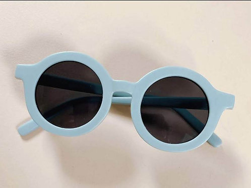 Kids Sustainable Sunglasses by Grech & Co - Light Blue