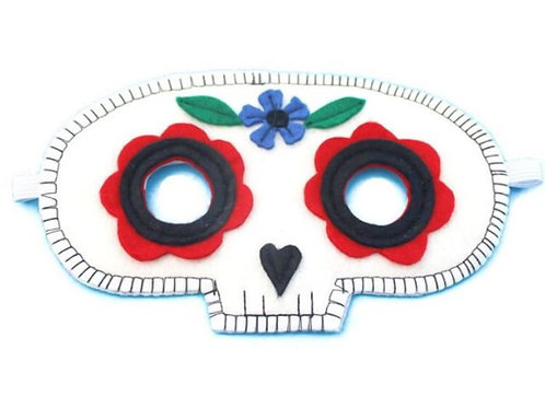 Sugar Skull Mask - A is For Alice