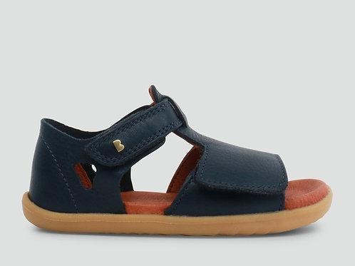 Bobux Step Up Mirror Waterproof First-Walker Sandals - Navy