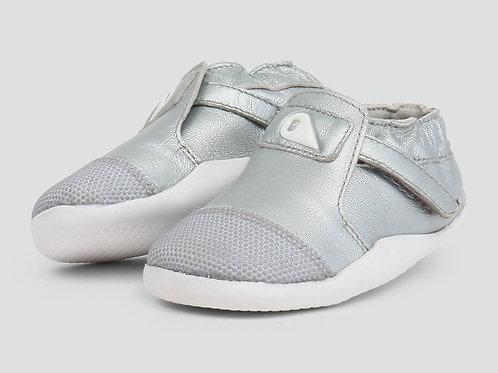 Bobux Step Up Xplorer First Walker Shoe Silver