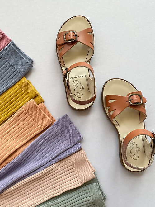 Samphire Women's Marella Splash Proof Sandals - Cognac