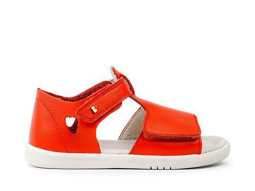 Bobux SU Mirror First Walker Sandals - Orange