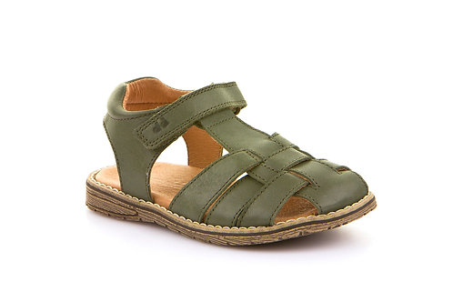 Froddo Leather Fisherman Sandals - Dark Green